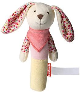 grasp toy rabbit, squeaky