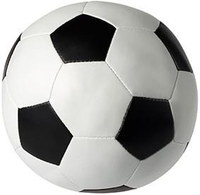 M160550 Vinyl soccer ball - White/black - Ø 9,0 cm