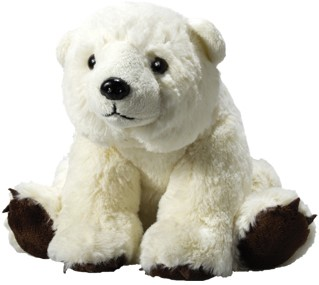 plush polar bear Lia