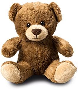M160656 Bear - Dark brown - one size