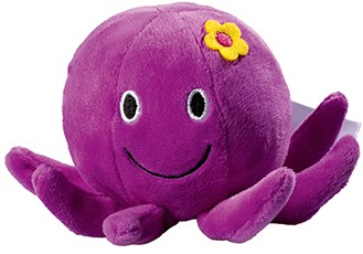 Plush octopus Belinda