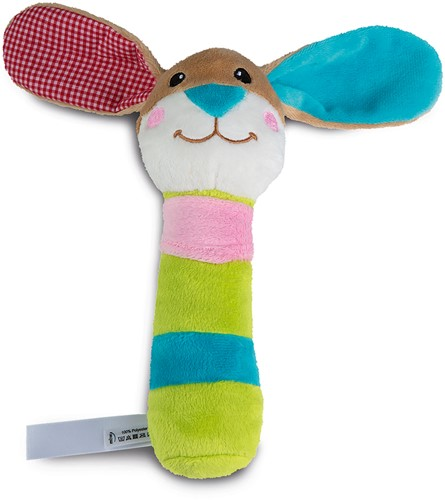 Grab toy rabbit, with rattle