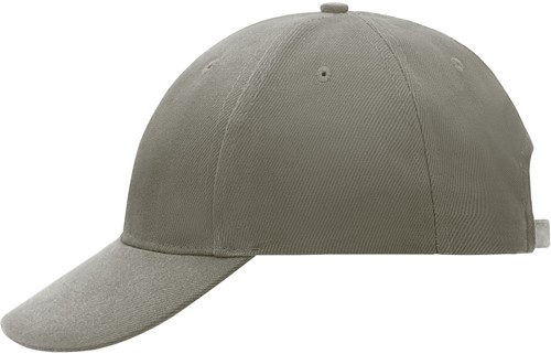 MB018 6 Panel Cap Low-Profile - Beige - One size