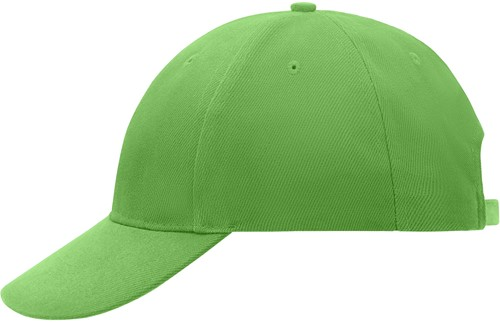 MB018 6 Panel Cap Low-Profile - Lime - One size