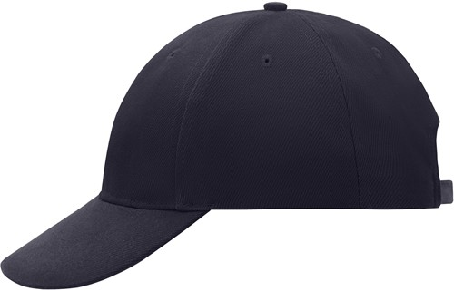 MB018 6 Panel Cap Low-Profile - Navy - One size