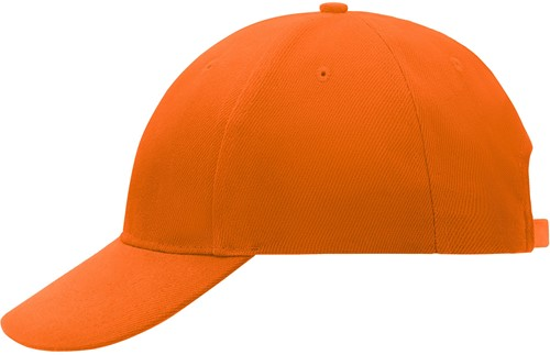 MB018 6 Panel Cap Low-Profile - Oranje - One size
