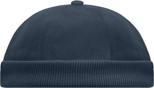 MB022 6 Panel Chef Cap - Navy - One size
