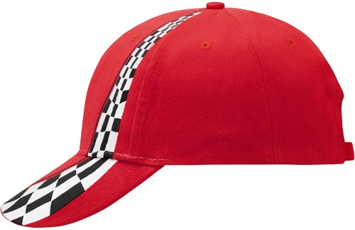 MB038 Racing Cap - Rood - One size
