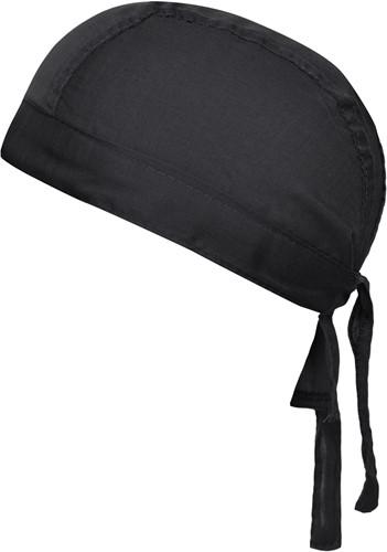 MB041 Bandana Hat - Zwart - One size
