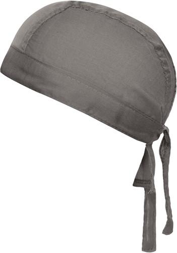 MB041 Bandana Hat - Donkergrijs - One size