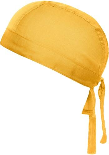 MB041 Bandana Hat - Goudgeel - One size
