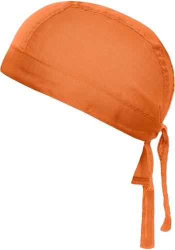 MB041 Bandana Hat - Oranje - One size