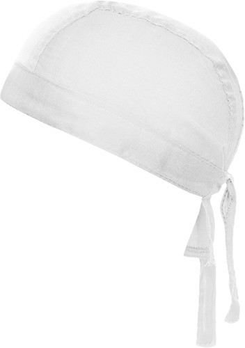 MB041 Bandana Hat - Wit - One size