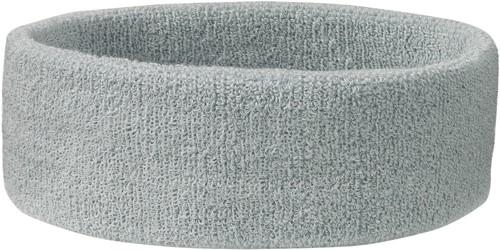 MB042 Terry Headband - Lichtgrijs - One size