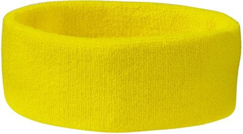 MB042 Terry Headband - Lichtgeel - One size