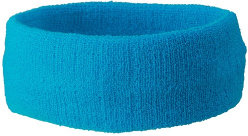 MB042 Terry Headband - Turquoise - One size