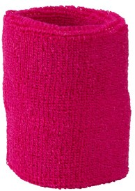 MB043 Terry Wristband - Roze - One size