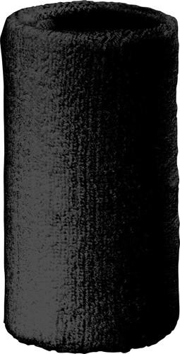 MB044 Sporty Wristband - Zwart - One size