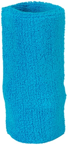 MB044 Sporty Wristband - Turquoise - One size