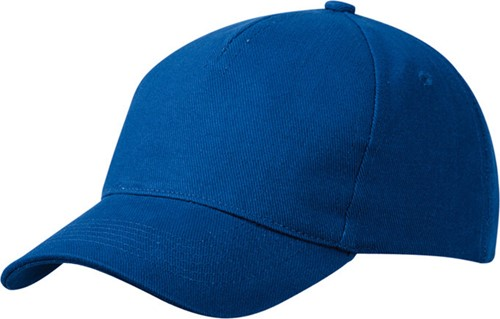 MB092 5 Panel Cap Heavy Cotton - Royal - One size