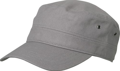 MB095 Military Cap - Donkergrijs - One size