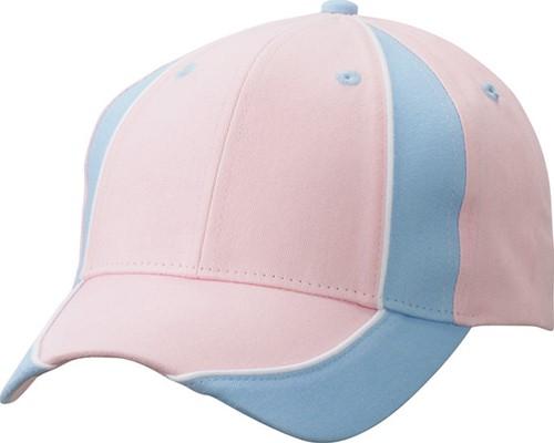 MB135 Club Cap - Lichtroze/lichtblauw/wit - One size