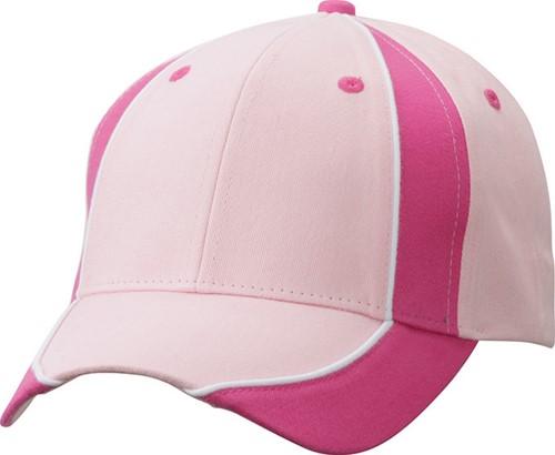MB135 Club Cap - Lichtroze/roze/wit - One size