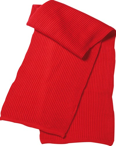 MB504 Knitted Scarf - Rood - One size