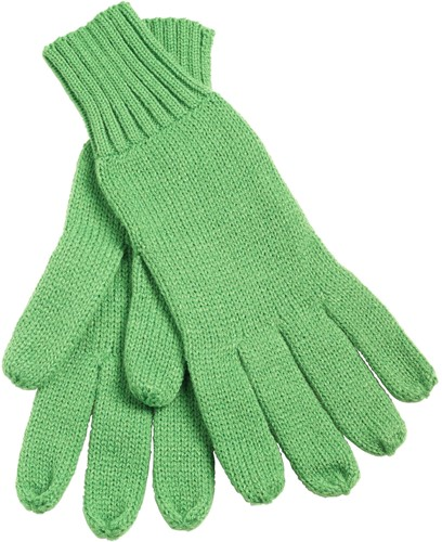 MB505 Knitted Gloves - Groen - S/M