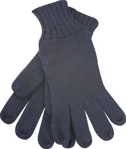 MB505 Knitted Gloves - Navy - L/XL