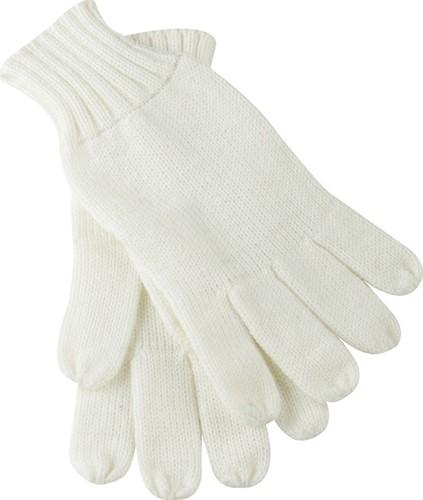 MB505 Knitted Gloves - Gebroken-wit - L/XL