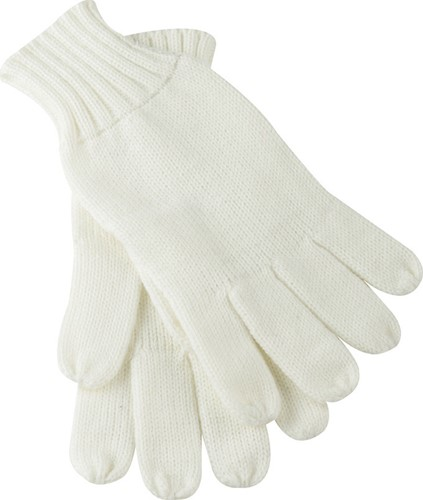 MB505 Knitted Gloves - Gebroken-wit - S/M
