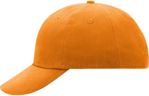 MB6111 6 Panel Raver Cap - Oranje - One size
