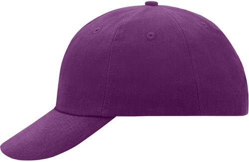 MB6111 6 Panel Raver Cap - Paars - One size