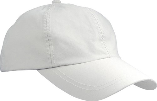 MB6116 6 Panel Outdoor-Sports-Cap - Wit - One size