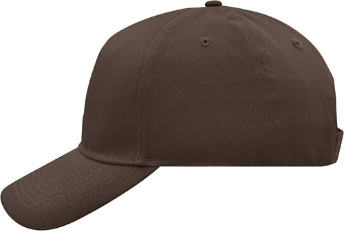 MB6117 5 Panel Cap - Donkerbruin - One size