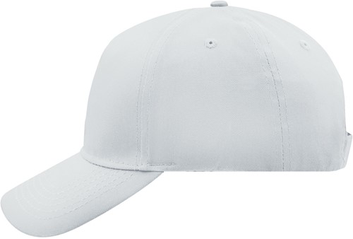 MB6117 5 Panel Cap - Wit - One size