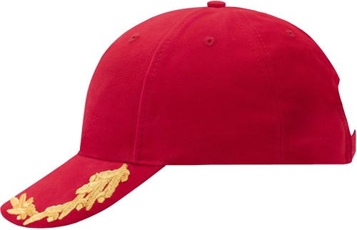 MB6121 6 Panel VIP Cap - Rood - One size