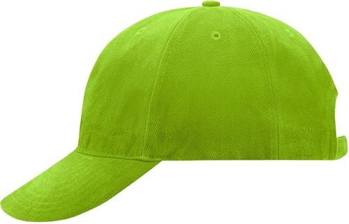 MB6126 6 Panel Softlining Raver Cap - Lime - One size