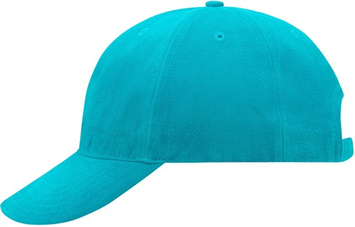 MB6126 6 Panel Softlining Raver Cap - Pacific - One size