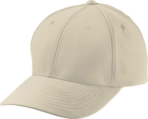 MB6135 6 Panel Polyester Peach Cap - Beige - One size