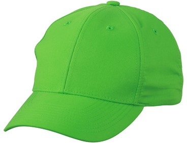 MB6135 6 Panel Polyester Peach Cap - Groen - One size