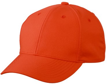 MB6135 6 Panel Polyester Peach Cap - Grenadine - One size