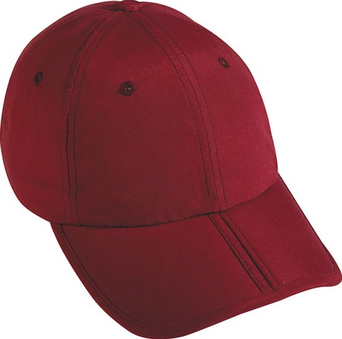 MB6155 6 Panel Pack-a-Cap - Dieprood - One size