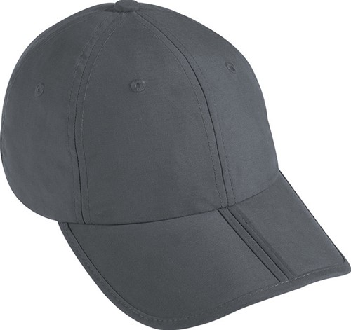 MB6155 6 Panel Pack-a-Cap - Donkergrijs - One size