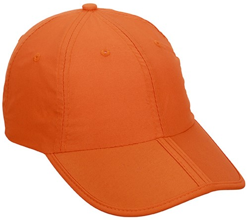 MB6155 6 Panel Pack-a-Cap - Oranje - One size