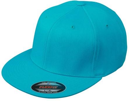 MB6184 Flexfit® Flat Peak Cap - Caraïbisch-blauw - S/M
