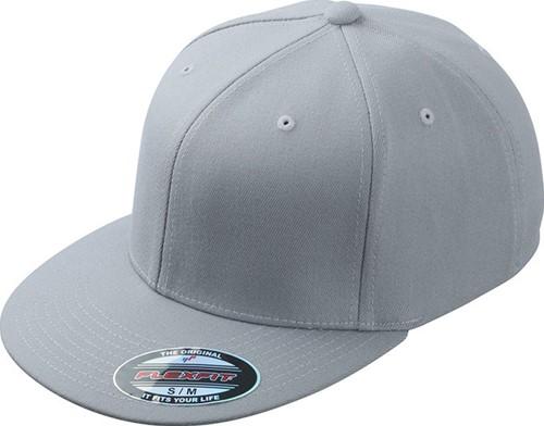 MB6184 Flexfit® Flat Peak Cap - Lichtgrijs - L/XL