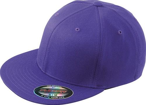 MB6184 Flexfit® Flat Peak Cap - Paars - S/M