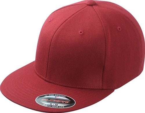 MB6184 Flexfit® Flat Peak Cap - Wijnrood - S/M